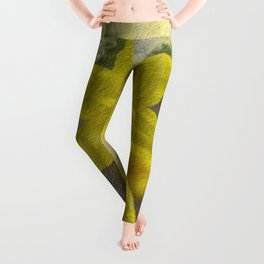 Daffodils Leggings