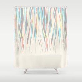 nude colour fall Shower Curtain
