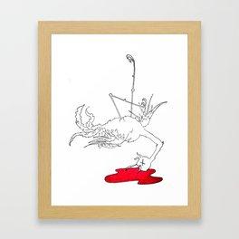 Bye Bye, Birdie Framed Art Print
