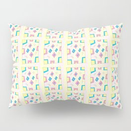 Rectangle and abstraction 4-mutlicolor,abstraction,abstract,fun,rectangle,square,rectangled,geometry Pillow Sham