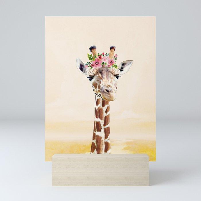 Giraffe Mini Art Print