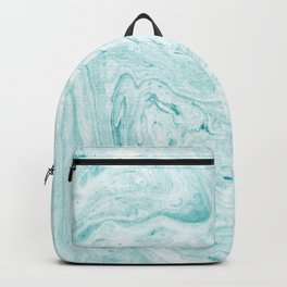 Light aqua marble Backpack