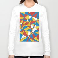 glass Long Sleeve T-shirts featuring GLASS by Lauren