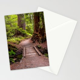 Hike to Sol Duc Falls, Olympic Peninsula, WA Stationery Cards