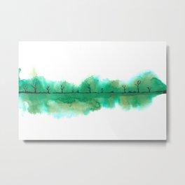 The emerald swamp Metal Print