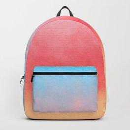 Summer Beach Watercolor Backpack