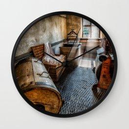 Vintage Laundry Room Wall Clock