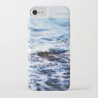 surf iPhone & iPod Cases featuring Surf by Leah Flores