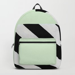 PARALLEL_LINES_GREEN_MINT Backpack