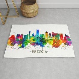 Brescia Italy Skyline Rug