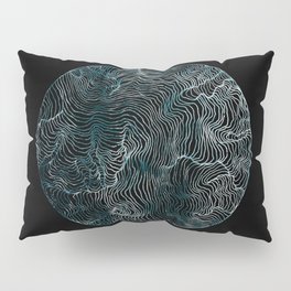 Lines of the Tide Pillow Sham