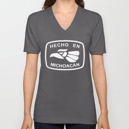 Hecho En Michoacan Michoacán Morelia Mexico T-Shirts Unisex V-Neck