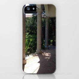 Italy In A View: A Renaissance Loggia iPhone Case