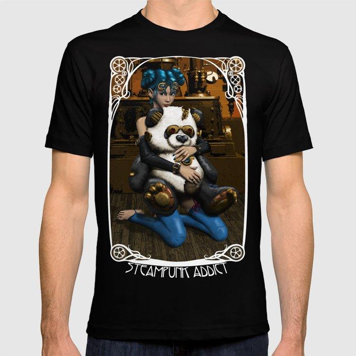 Steampunk Addict T-shirt