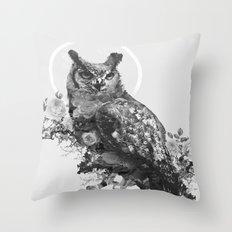 Moon Vertigo Throw Pillow