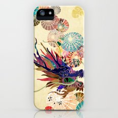 Dragon with unbrellas iPhone (5, 5s) Slim Case