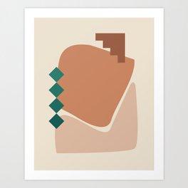 // Shape study #22 Art Print
