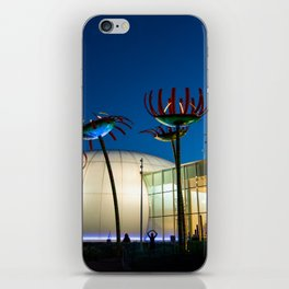 Seattle Glass Flowers Space Needle iPhone Skin