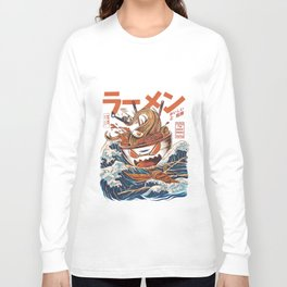 Great Ramen off Kanagawa Long Sleeve T-shirt