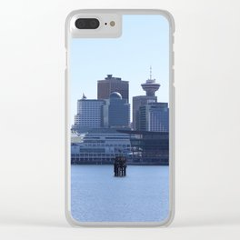 Downtown Vancouver Canada Clear iPhone Case