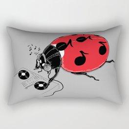 DJ beatLE  Rectangular Pillow