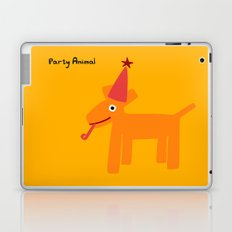 Party Animal-Orange Laptop & iPad Skin