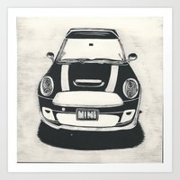 Front View Mini Art Print
