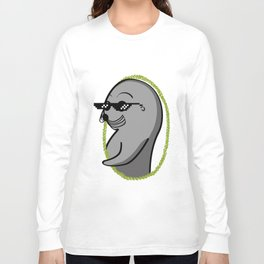 Cool Seal Portrait Long Sleeve T-shirt