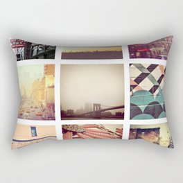 New York Scenes Rectangular Pillow