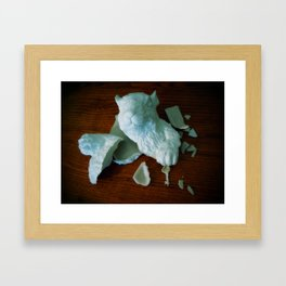 Squirrel-We can rebuild him Framed Art Print