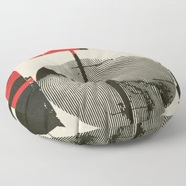« graphique .1 » Floor Pillow