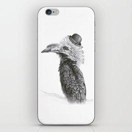 Fancy Hornbill iPhone Skin