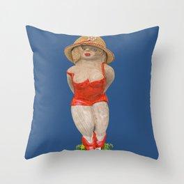 I love summer! Throw Pillow