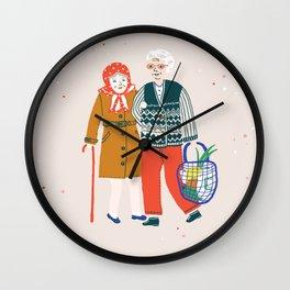 PRIORITY Wall Clock