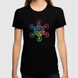 Crop Circle Flower T-shirt