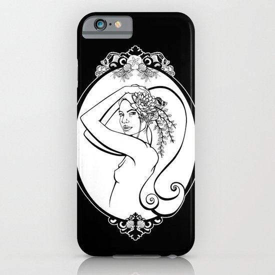 Sea Life Oval iPhone & iPod Case