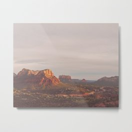 Sedona Arizona print. Vortex No. 3 Metal Print
