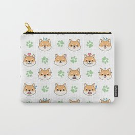 Chibi shiba's Carry-All Pouch