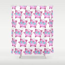 The cuteness of Jigglypuff Shower Curtain