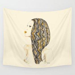 yellow rasta Wall Tapestry