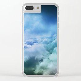 Hopeful Confidence Through the Storm Clear iPhone Case