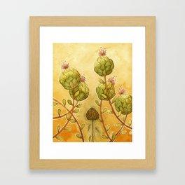 Artichokes Framed Art Print