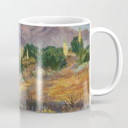 Evening Desert Haze - The San Gabriel Mountains Coffee Mug