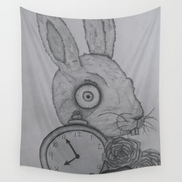 Crazy Rabbit Wall Tapestry