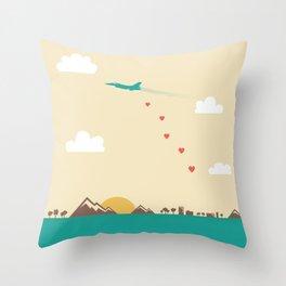 Love War Throw Pillow