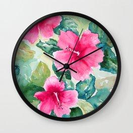 Island Way Wall Clock