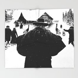 The Hateful Eight Throw Blanket