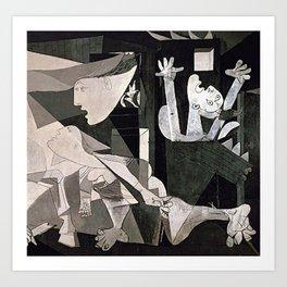 GUERNICA #2 - PABLO PICASSO Kunstdrucke