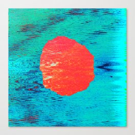 Red pearl Canvas Print