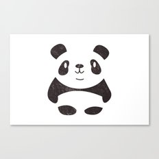 Panda in the Mist Canvas Print